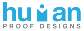 Human proof designs logo