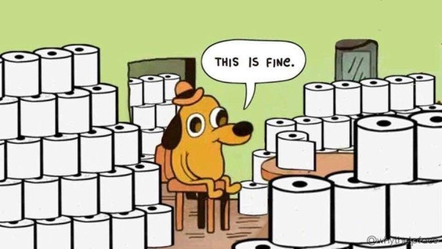 this is fine TP